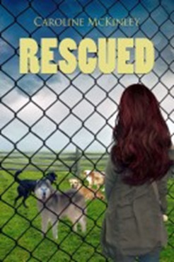 book cover of Rescued by Caroline McKinley