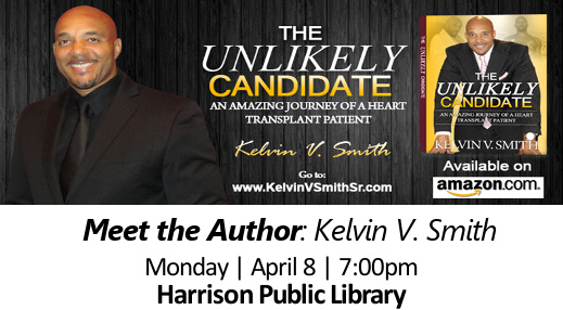 Kelvin V. Smith's book: The Unlikely Candidate