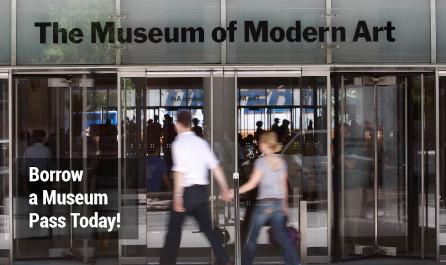 Couple entering a museum
