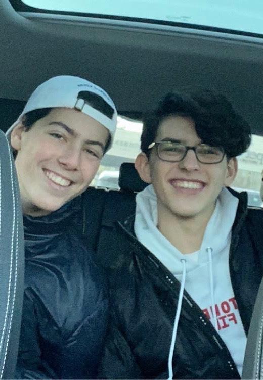 HHS Students Gabriel & Aidan