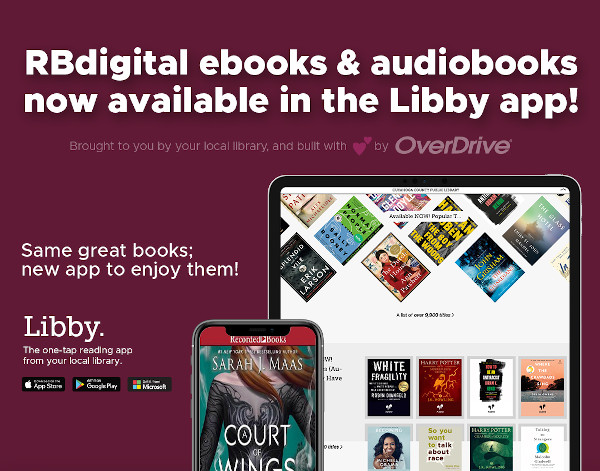 RBdigital now available in the Libby app!