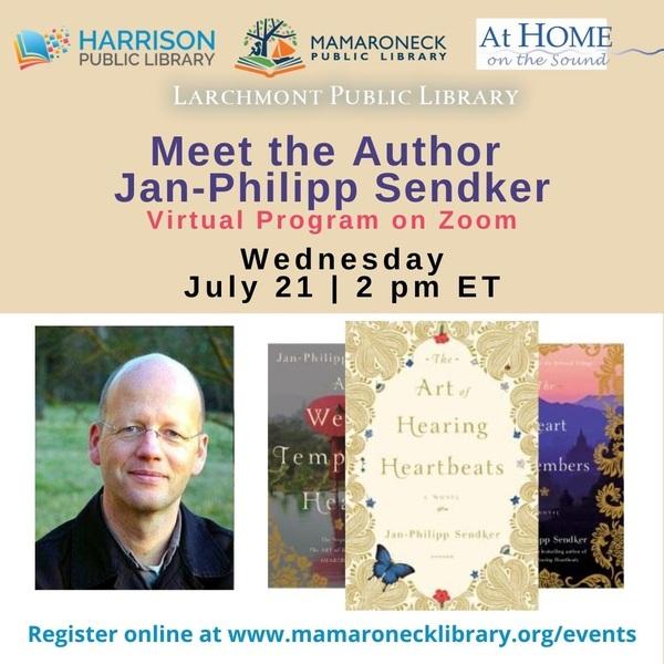 Virtual Author Event with Jan-Philipp Sendker